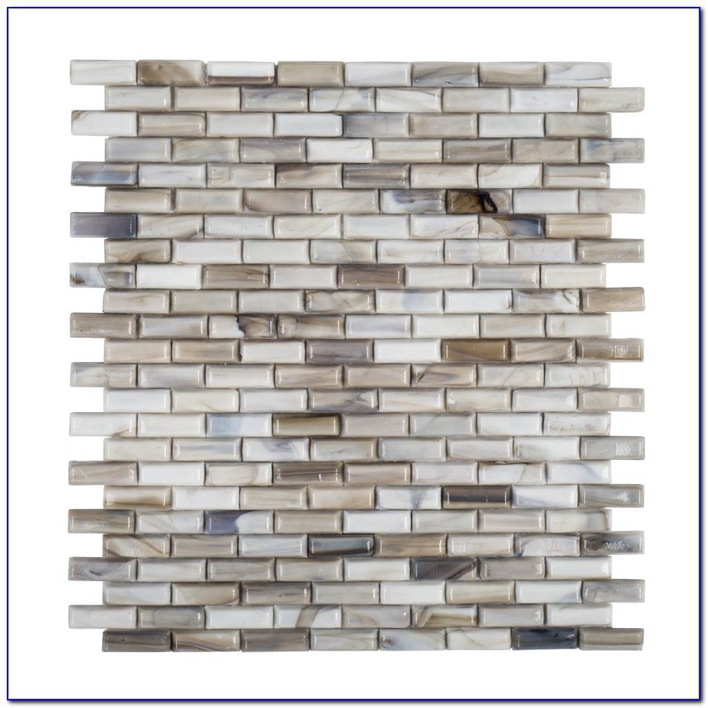Jeffrey Court Crystal Ice Glass Mosaic Tile