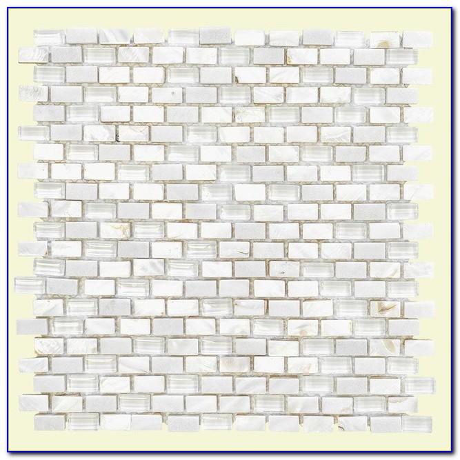 Jeffrey Court Silver Screen Mosaic Tile