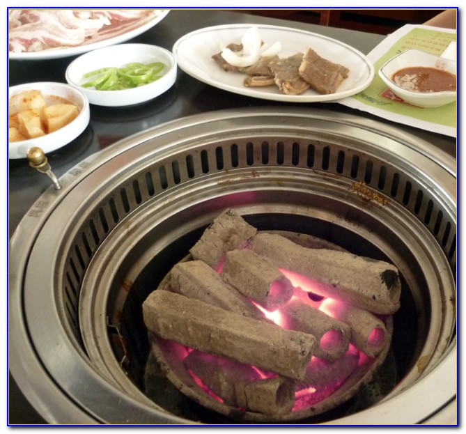 Korean Tabletop Gas Grill
