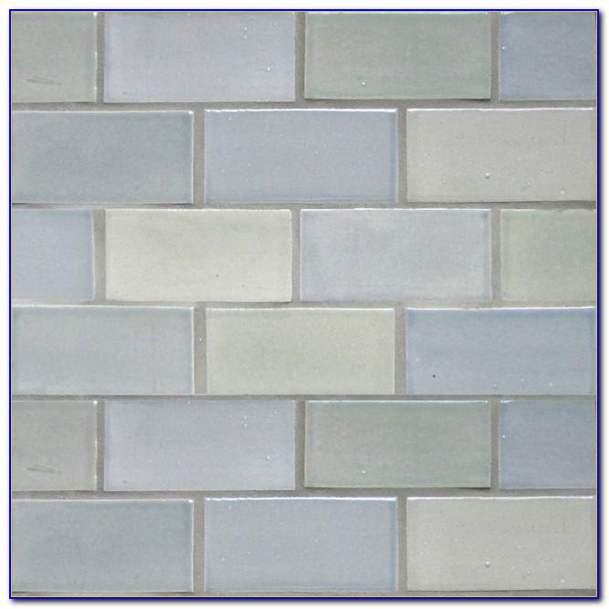Light Grey Subway Tile Bathroom