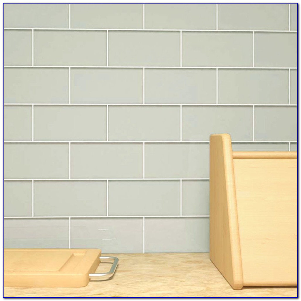 Light Grey Subway Tile Shower