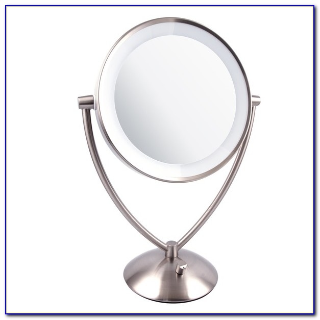 Lighted Tabletop Vanity Mirror