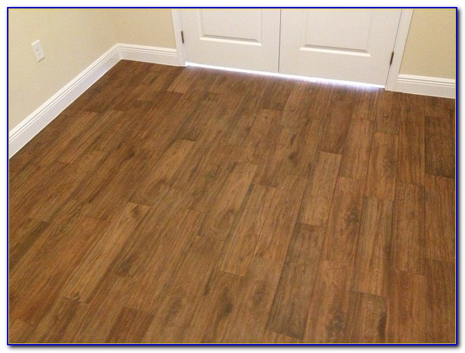 Long Plank Wood Look Tile