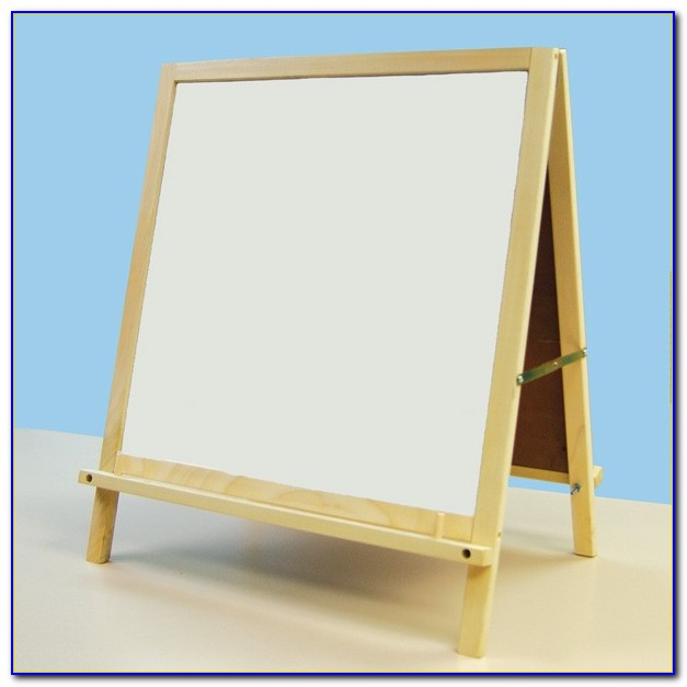 Magnetic Board With Table Top Easel