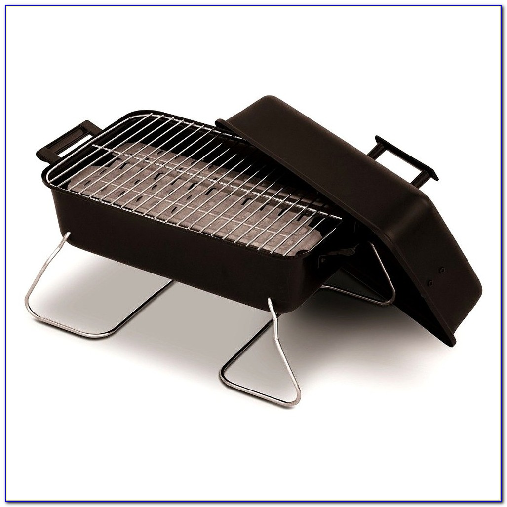 Mini Portable Tabletop Charcoal Grill From Crate & Barrel