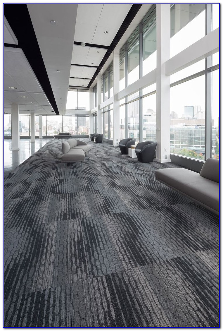 Mohawk Commercial Carpet Tile Installation