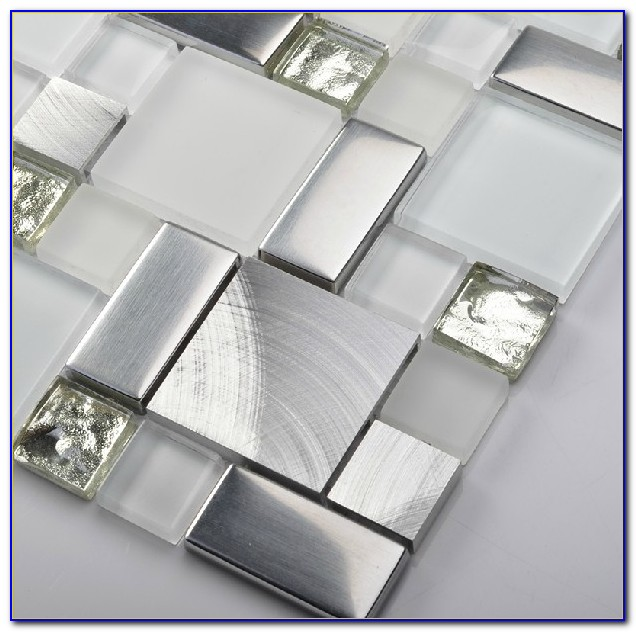 Mosaic Glass Tile Backsplash Pictures