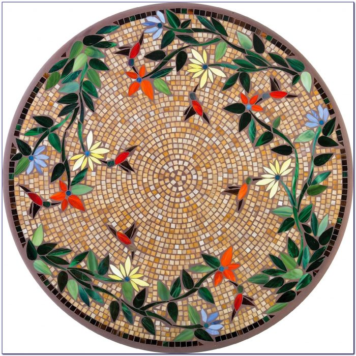 Mosaic Round Table Top Patterns