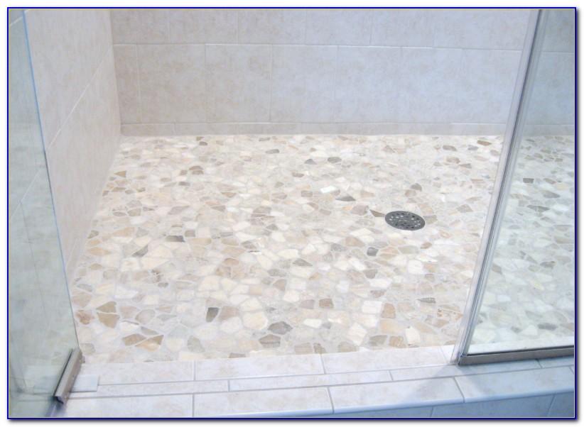 Mosaic Tile Shower Floor Ideas