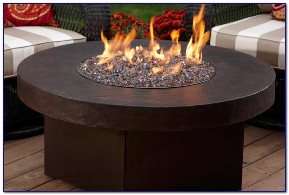 Natural Gas Tabletop Fire Pit