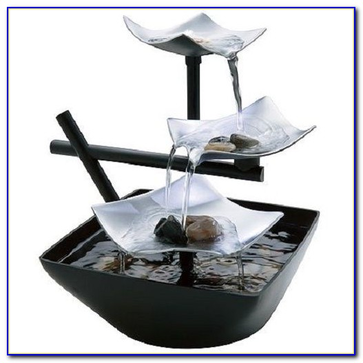Natural Rock Tabletop Fountains