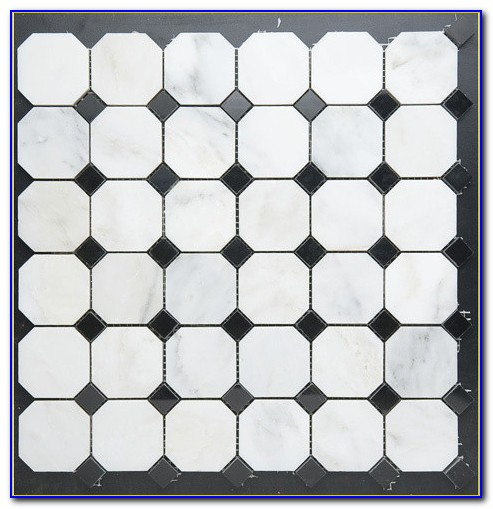 Octagon And Dot Tile Daltile