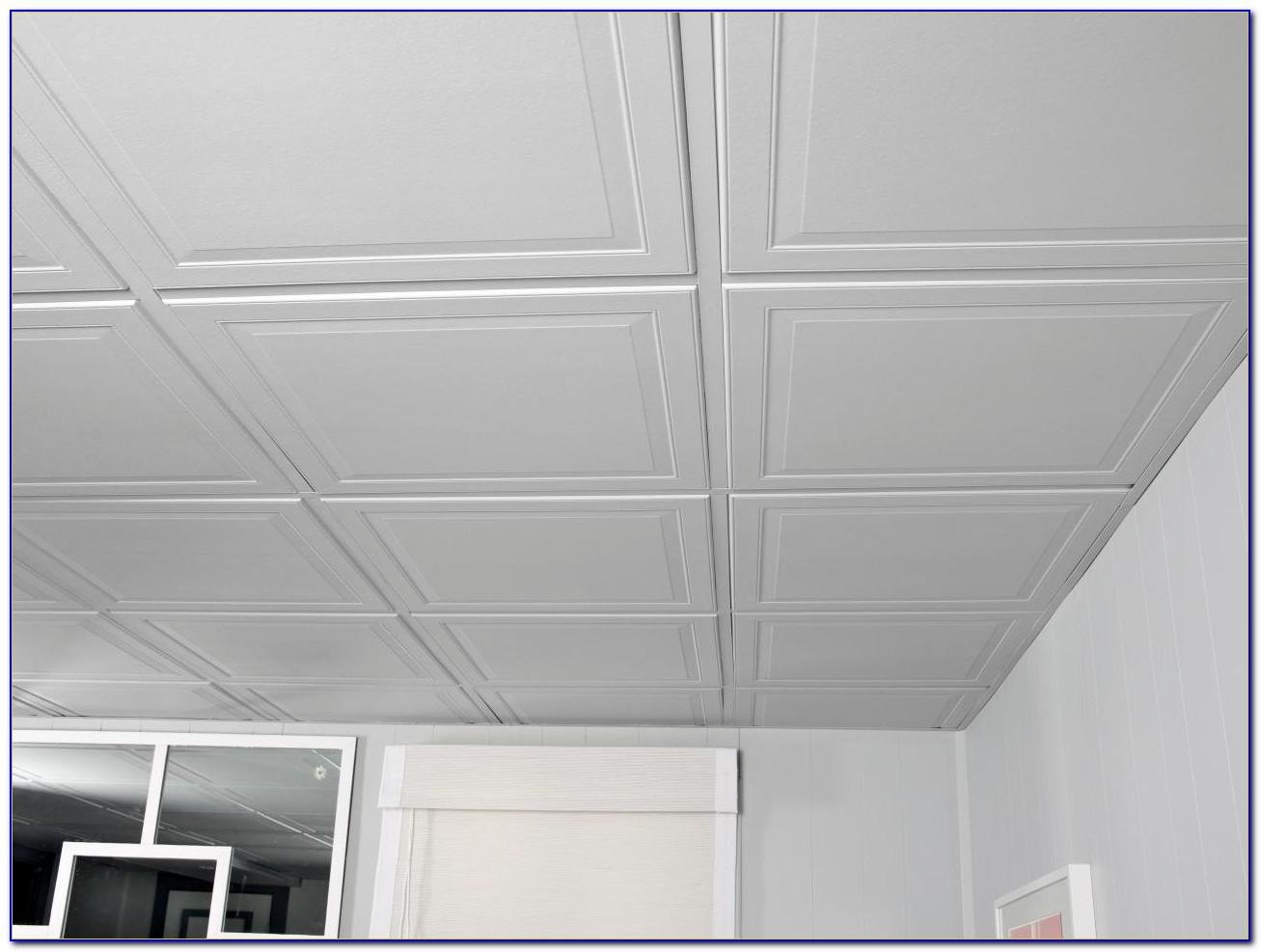 Painting Drop Down Ceiling Tiles