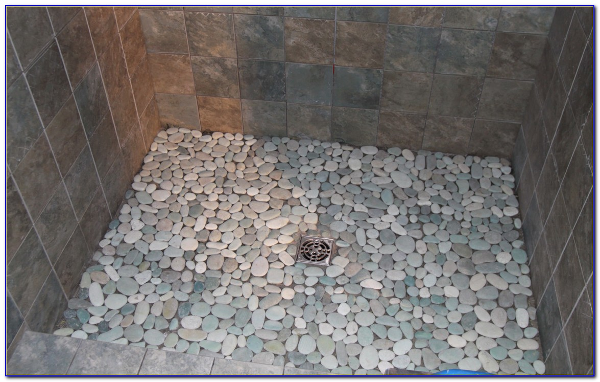 Pebble Tile Shower Floor Photos