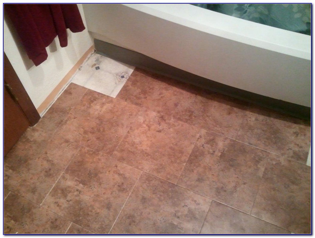 Peel And Stick Floor Tile Bathroom