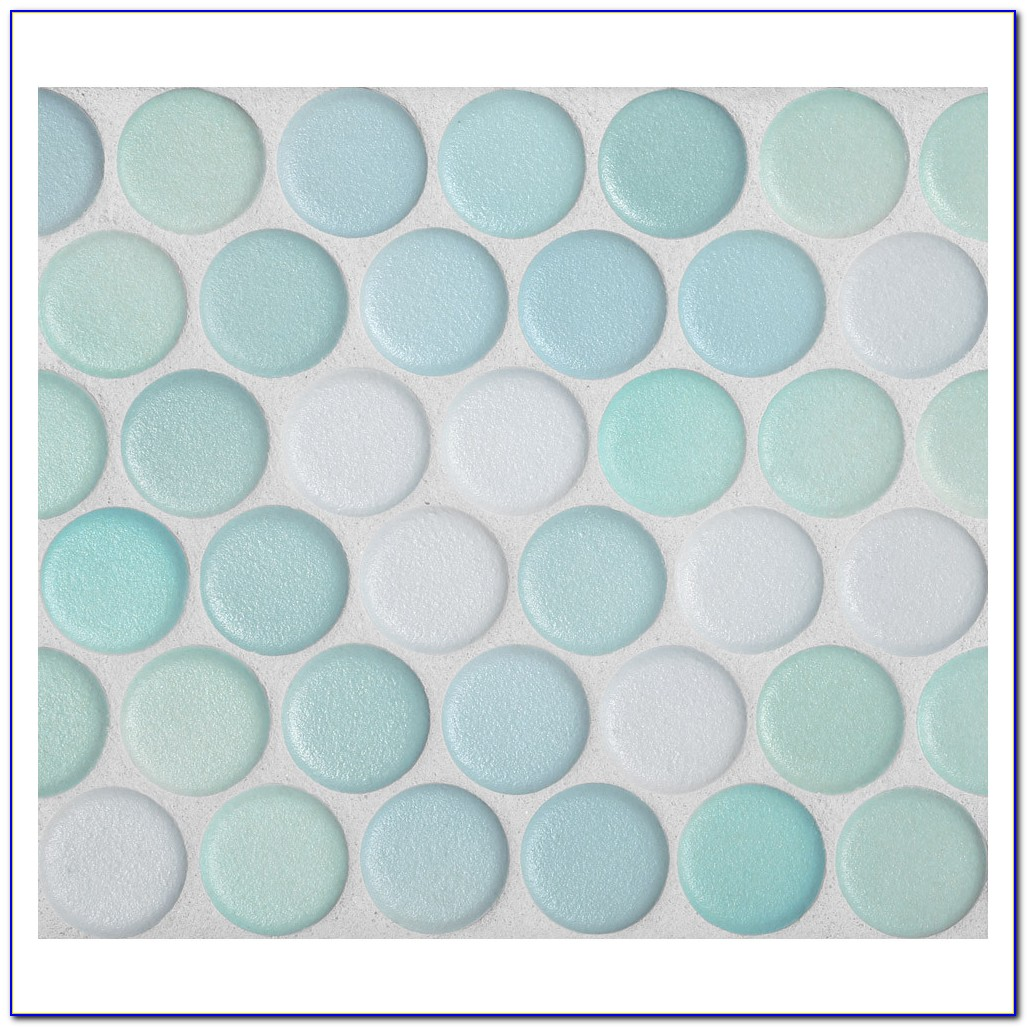 Penny Round Marble Mosaic Tile