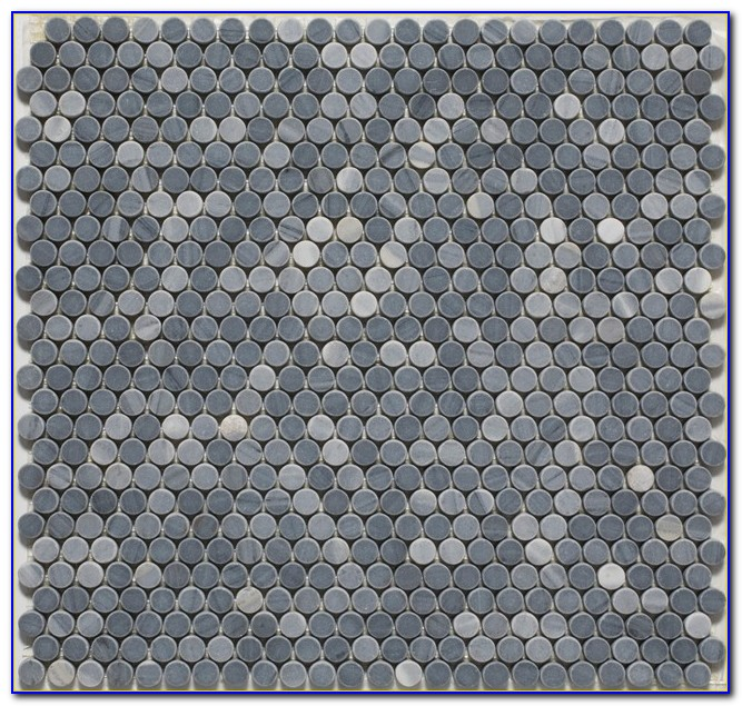 Penny Round Mosaic Tiles Brisbane