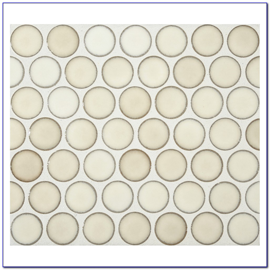 Penny Round Mosaic Tiles Melbourne