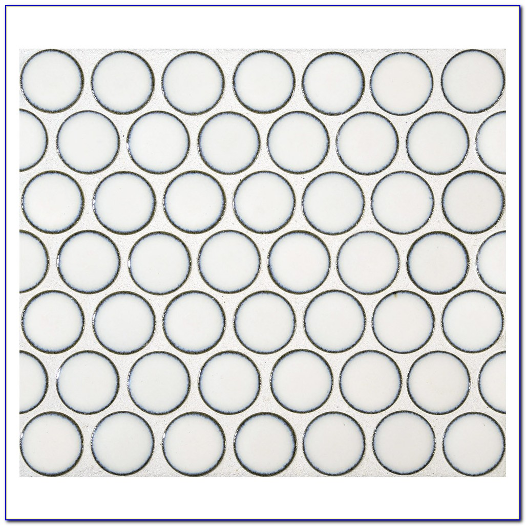 Penny Round Mosaic Tiles Perth