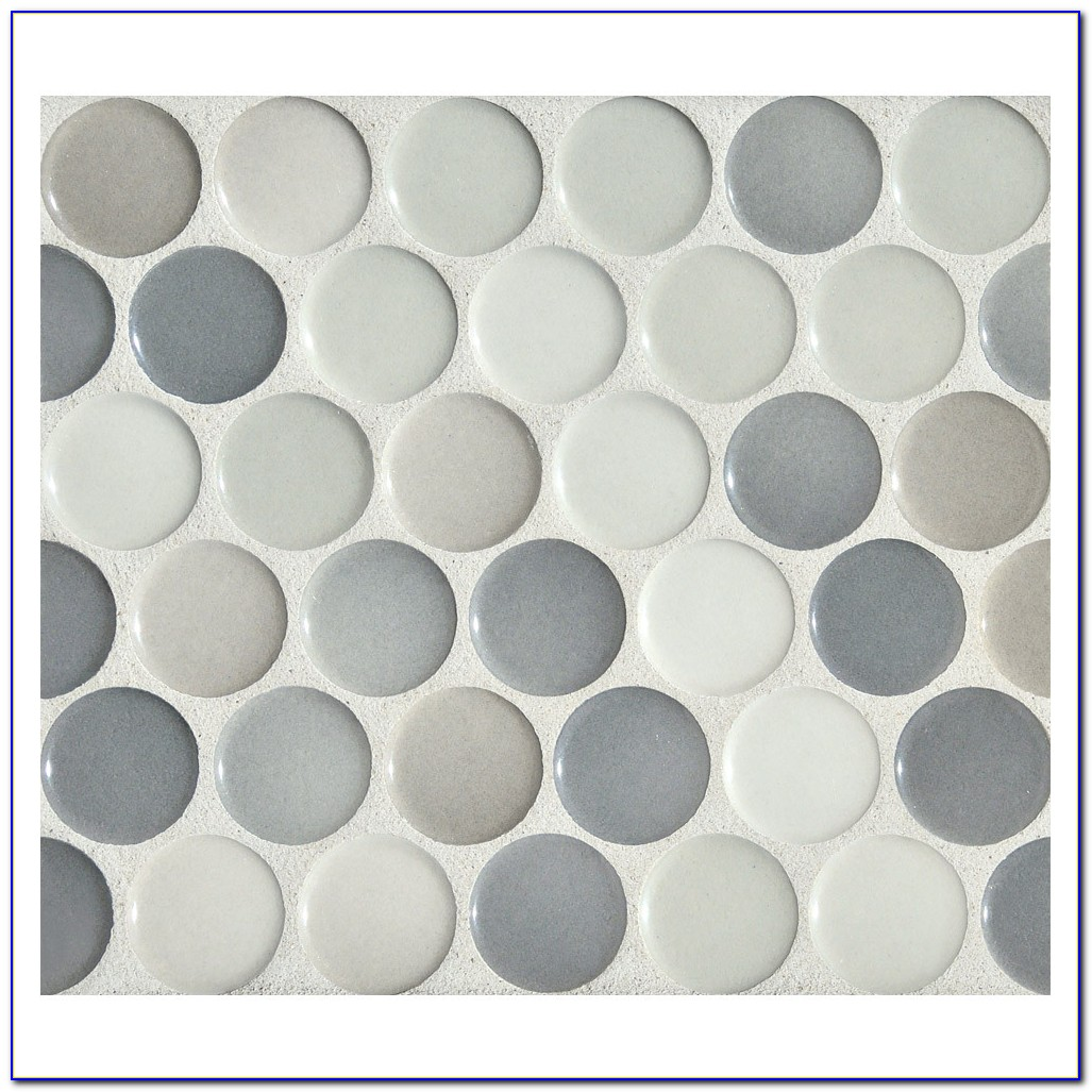 Penny Round Mosaic Tiles Uk