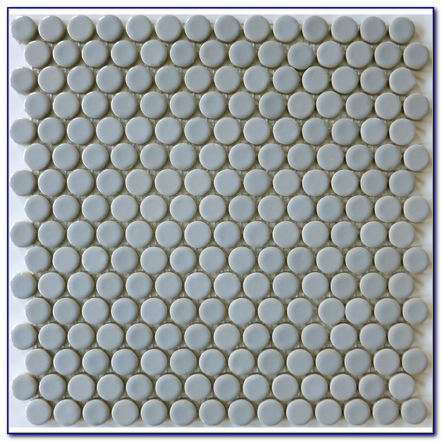 Penny Round Shower Floor Tile