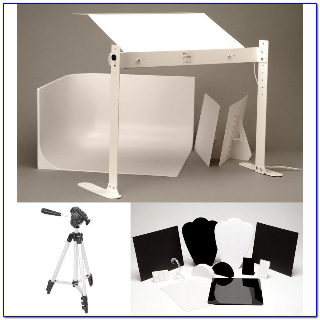 Photo Studio Tabletop Lighting Kit