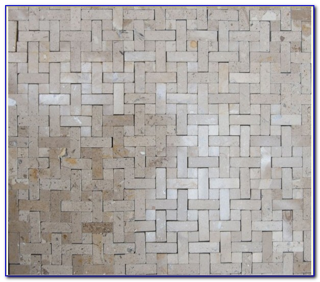 Porcelain Basket Weave Floor Tile
