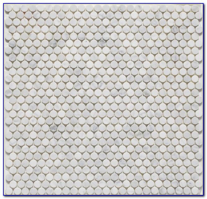 Porcelain Penny Round Floor Tile