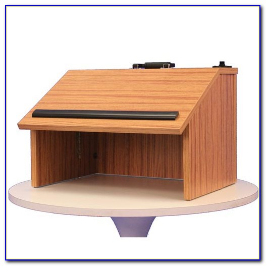 Portable Tabletop Lectern Folding