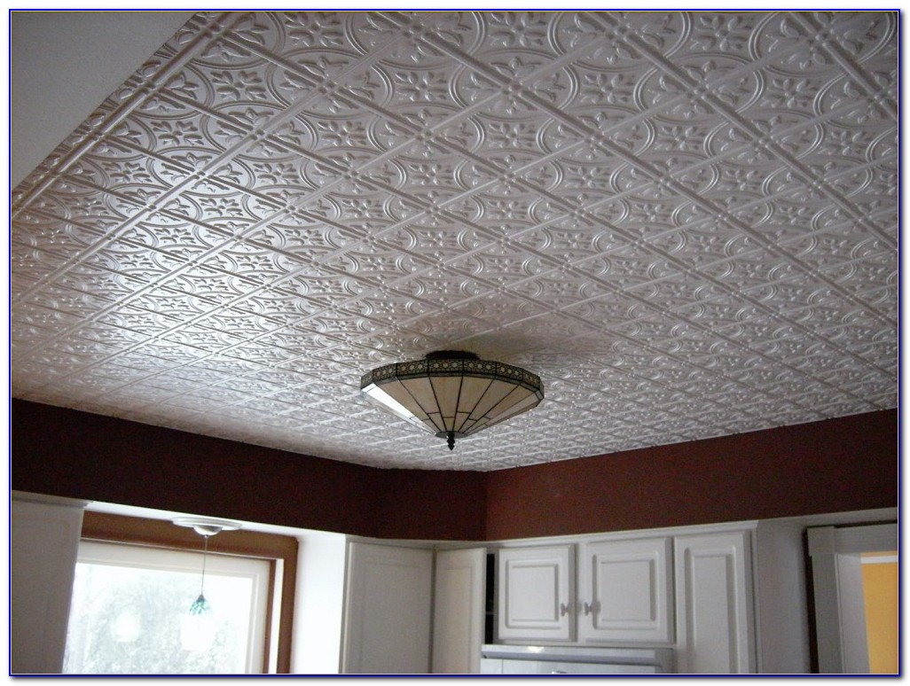 Pressed Tin Drop Ceiling Tiles