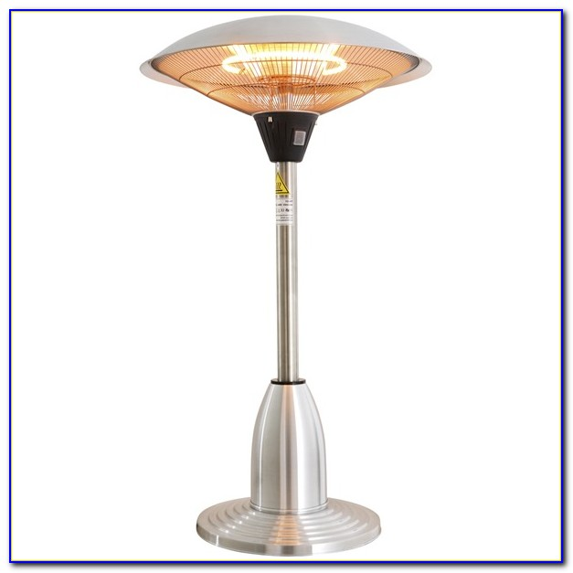 Rattan Electric Tabletop Patio Heater