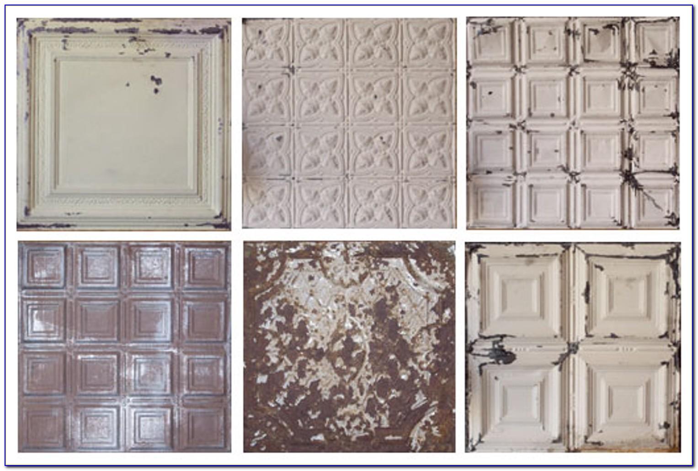 Reclaimed Tin Ceiling Tiles