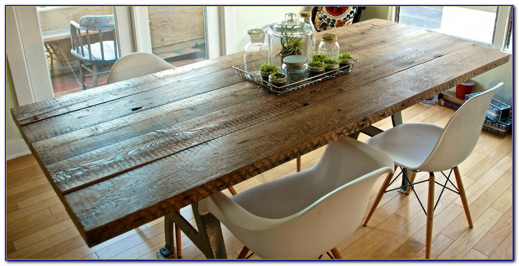 Reclaimed Wood Table Top Chicago