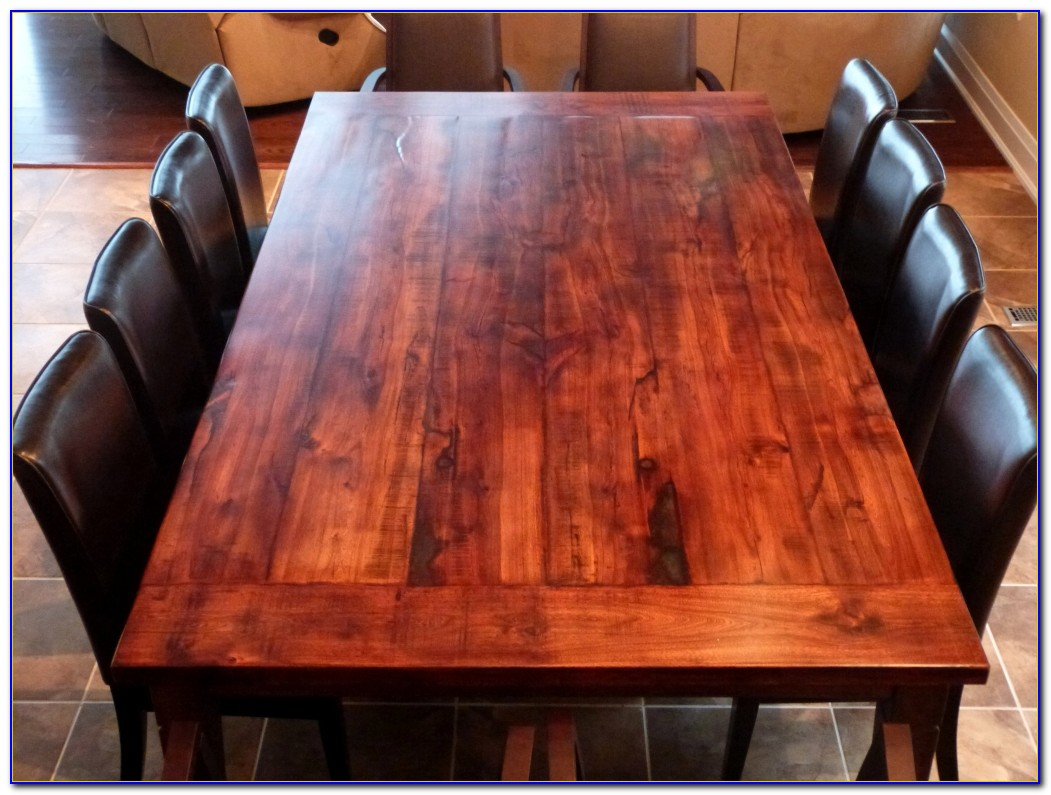 Reclaimed Wood Table Top Seattle