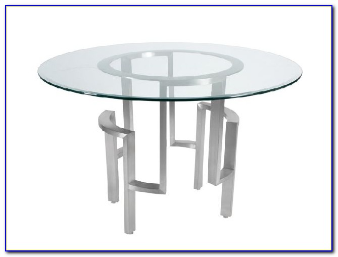 Round Glass Table Top 18 Inch
