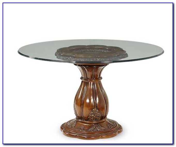 Round Glass Table Top 42 Inches