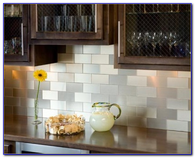 Self Adhesive Backsplash Tiles Youtube