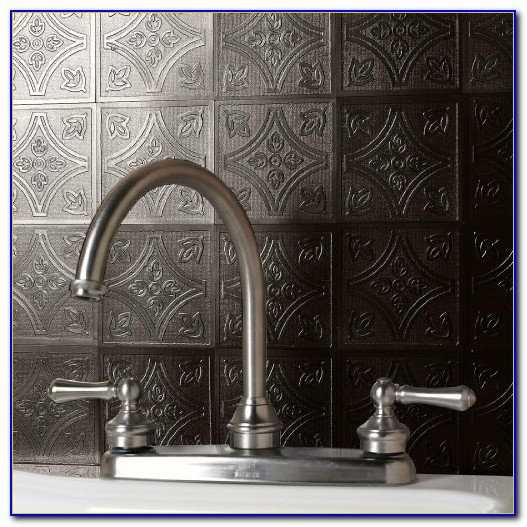 Self Adhesive Vinyl Tile Backsplash