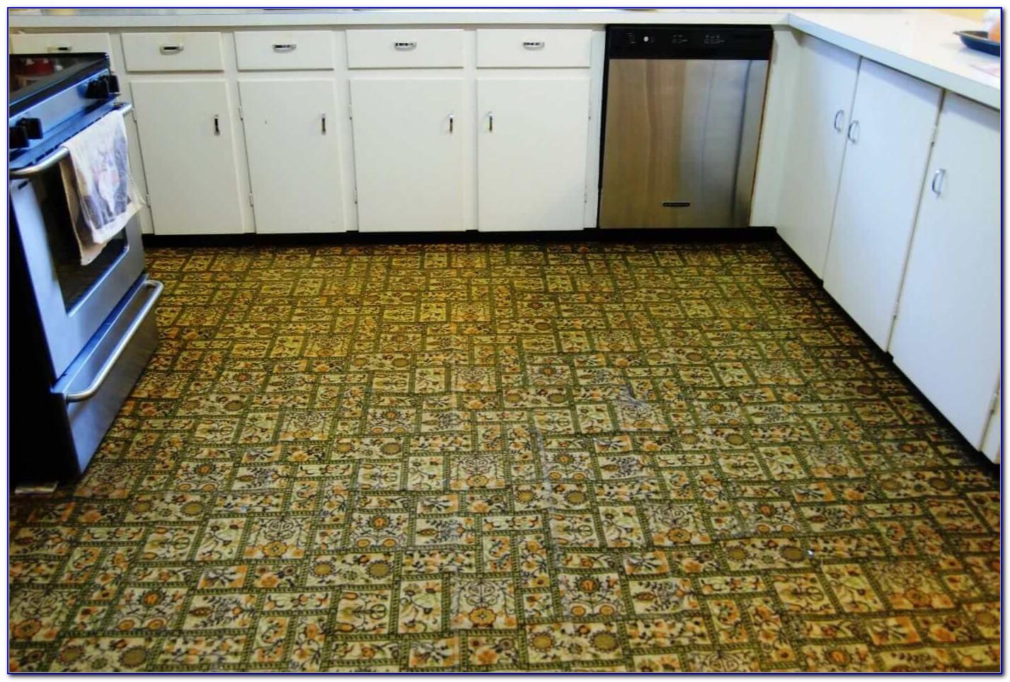 Self Stick Floor Tiles Won't Stick