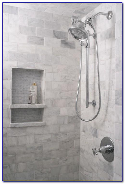 Shower Shelf Tile Ideas