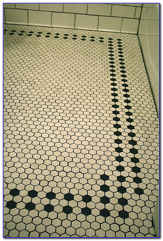 Small Hexagon Bathroom Floor Tiles