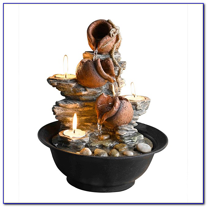 Small Indoor Tabletop Fountains
