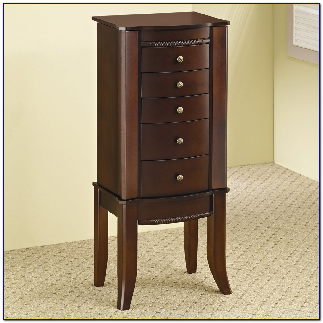 Small Milano Jewelry Tabletop Armoire
