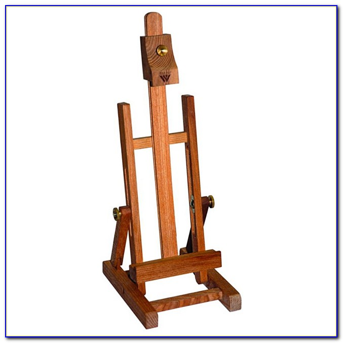 Small Table Top Wooden Easels