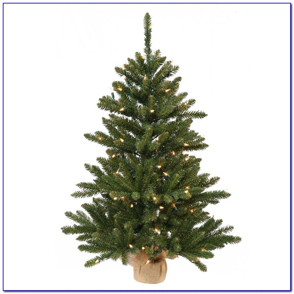 Small Tabletop Artificial Christmas Trees