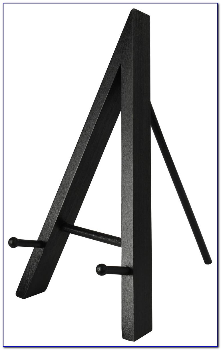 Small Tabletop Display Easel