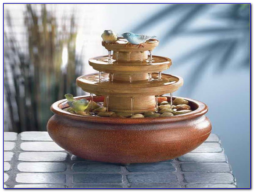 Small Tabletop Water Fountains