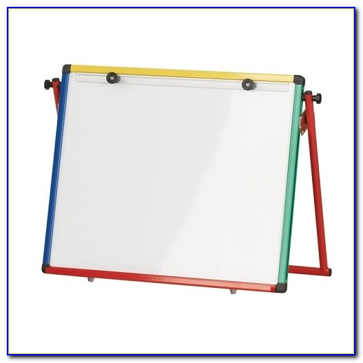 Small Tabletop Whiteboard Easel