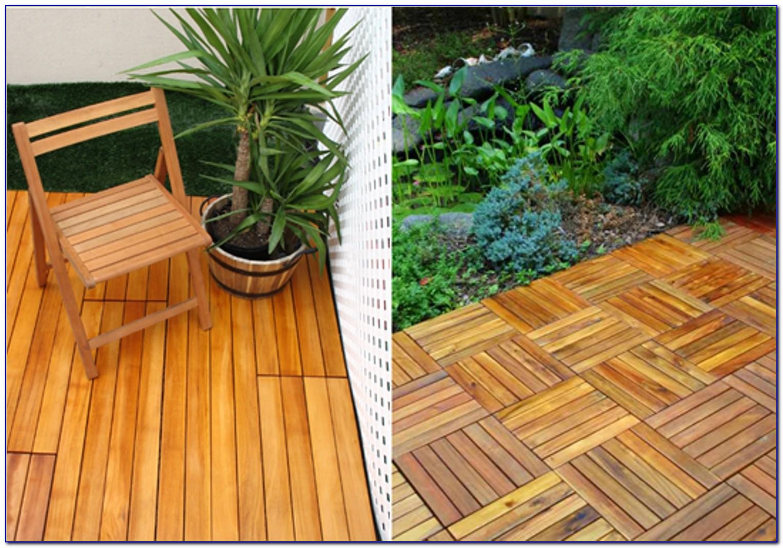 Snap Together Deck Tiles Australia