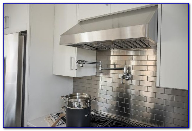 Stainless Steel Subway Tile Sheets